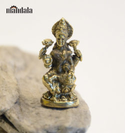 Statue mini Lakshmi Messing