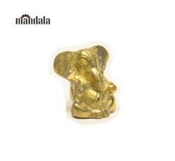 Statue Ganesha Großohr Messing (M)