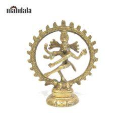 Statue Natrai – Shiva im Rad 7,5cm