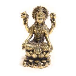 Lakshmi Statue Messing 5,5cm