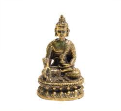 Medizinbuddha Statue Messing 5,5cm