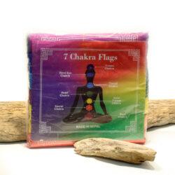 Gebetsfahnen 7 Chakra Flags