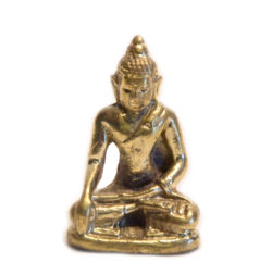 Statue mini Akshobya Messing
