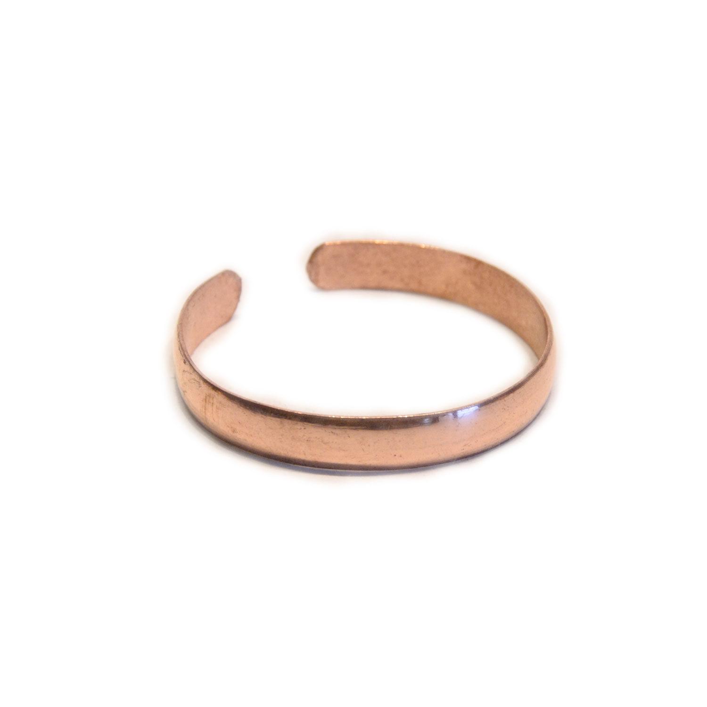 Armreif Kupfer oval