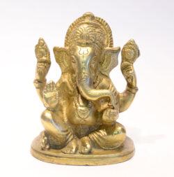 Ganesha Statue Messing 10cm