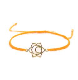 Chakra Armband vergoldet