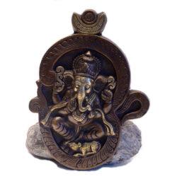 Ganesha Wandaufhänger Messing
