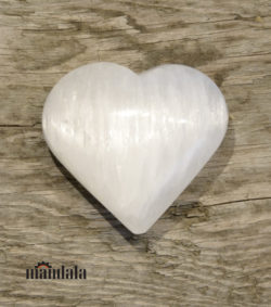 Herz Selenit Größe ca.5cm