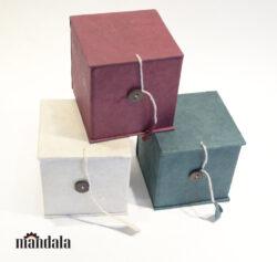 Klangschalen Box rot