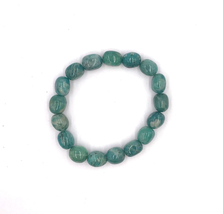 Amazonit Armband (Barock-Form)